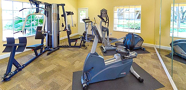 Cypress Oaks Fitness Room